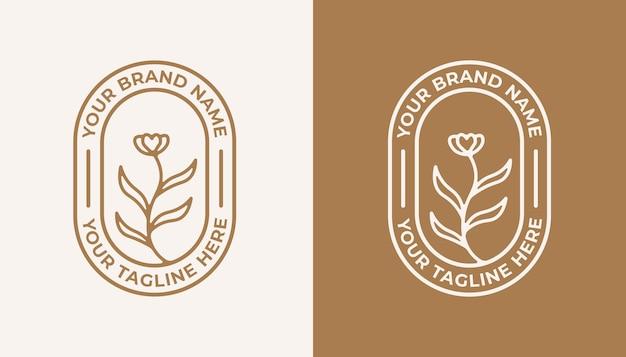 Projekt kobiecego logo