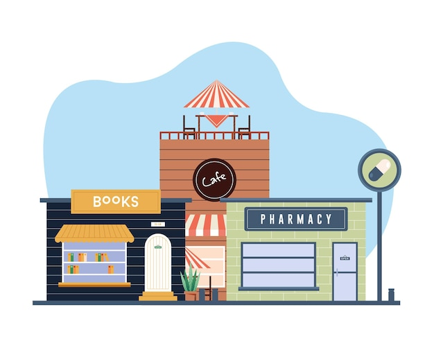 Projekt kolekcji sklepów