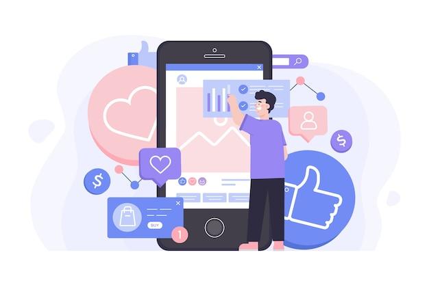 Projekt koncepcji marketingu społecznościowego