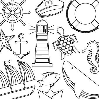 Projekt koncepcji morza