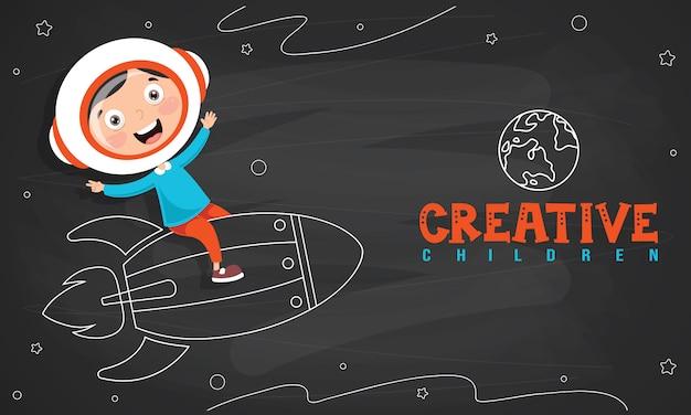 Projekt koncepcyjny dla kreatywnego myślenia
