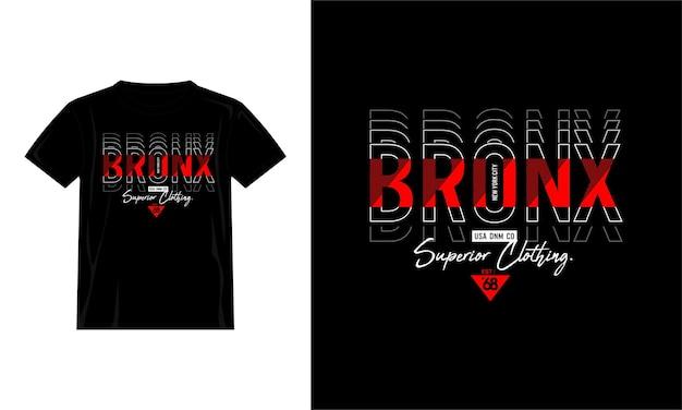 Projekt koszulki bronx