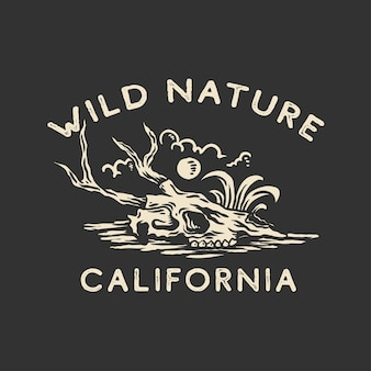 Projekt koszulki dzikiej przyrody