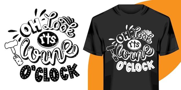 Projekt koszulki ręcznie rysowane napis