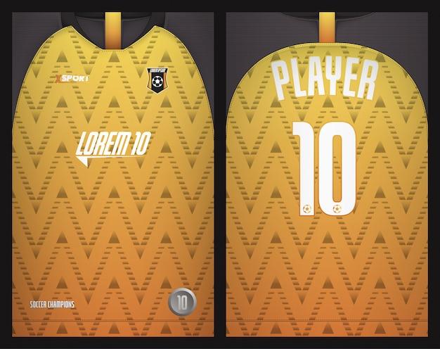 Projekt koszulki sportowe koszulki piłkarskie