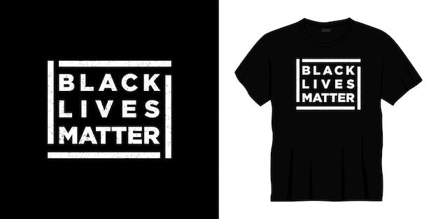 Projekt koszulki typografii w kolorze czarnym