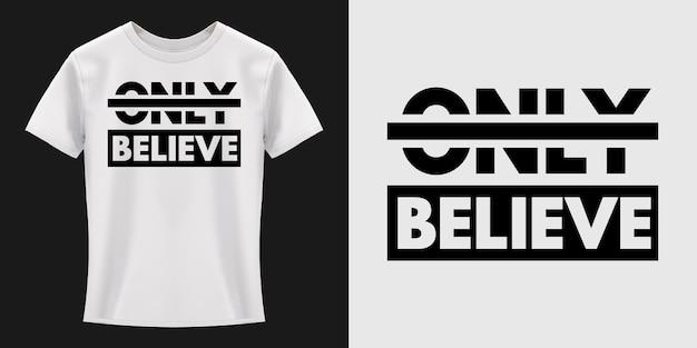 Projekt koszulki typografii