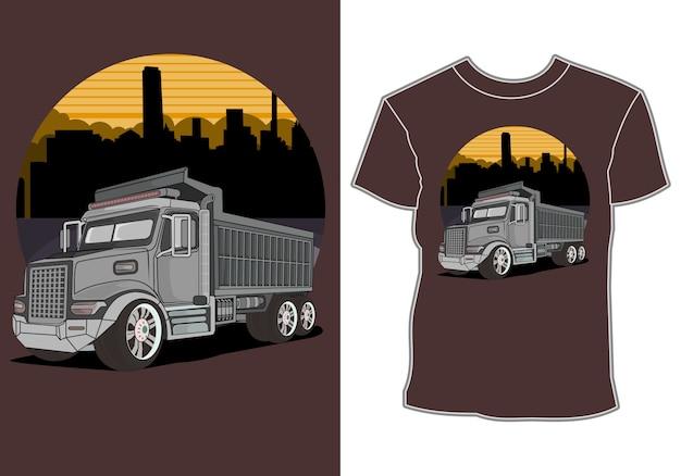 Projekt koszulki z nowoczesnymi samochodami sportowymi