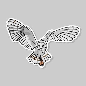 Projekt kreskówki sowa