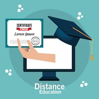 Projekt kształcenia na odległość