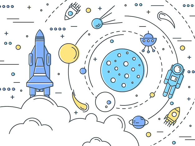Projekt linii przestrzeni kosmicznej
