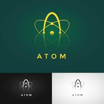 Projekt logo atom