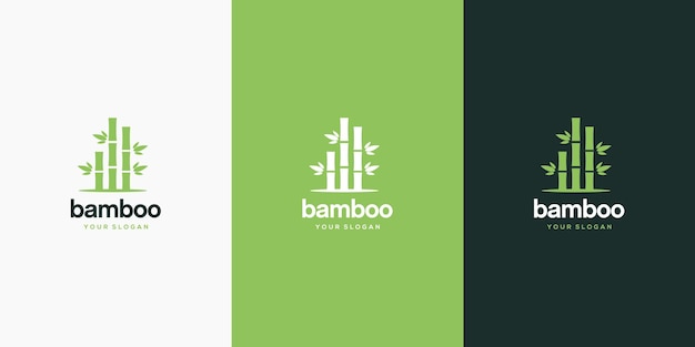 Projekt logo bambusa