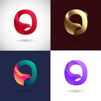 Projekt logo creative letter q.