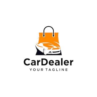 Projekt logo dealera samochodowego