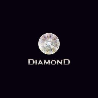 Projekt logo diamentów