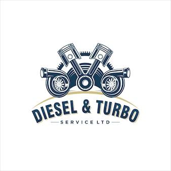 Projekt logo dla turbo