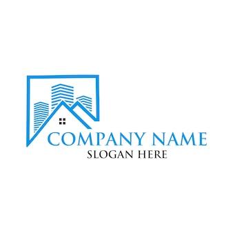Projekt logo domu nieruchomości