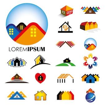 Projekt logo domu