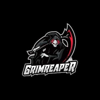 Projekt logo e-sportu reaper
