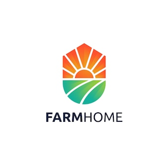 Projekt logo farm home