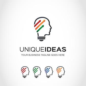 Projekt logo firmy idea