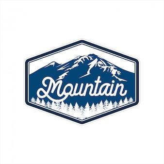 Projekt logo górskiego