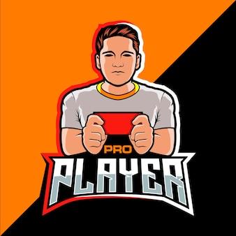 Projekt logo gry e-sportowej dla profesjonalnych graczy