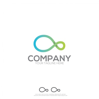 Projekt logo infinity