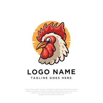 Projekt logo koguta