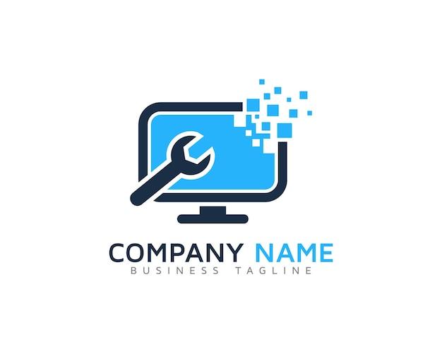 Projekt logo komputerów