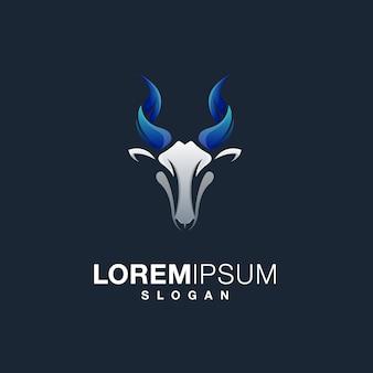 Projekt logo kozy
