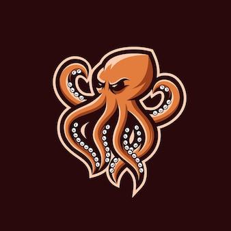 Projekt logo krakena