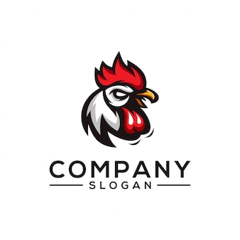 Projekt logo kurczaka