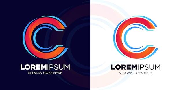 Projekt logo litera c dla nowej marki