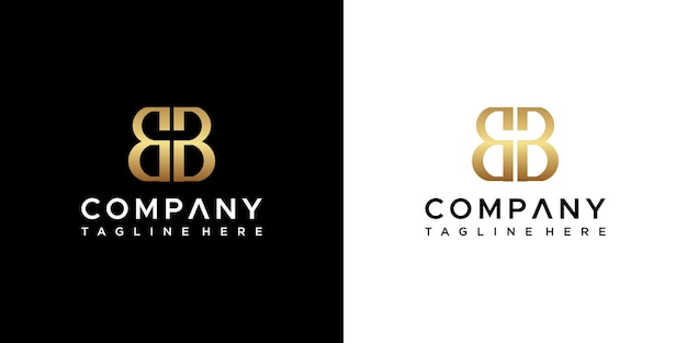 Projekt logo litery bb