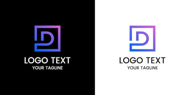 Projekt logo litery d
