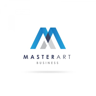 Projekt logo m shape