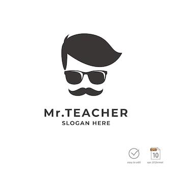 Projekt logo nauczyciela edukacji