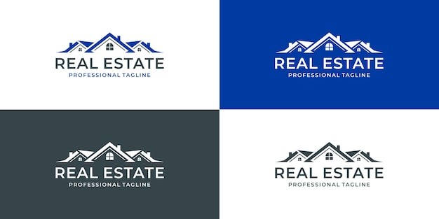 Projekt logo nieruchomości logo domu dom kreatywny
