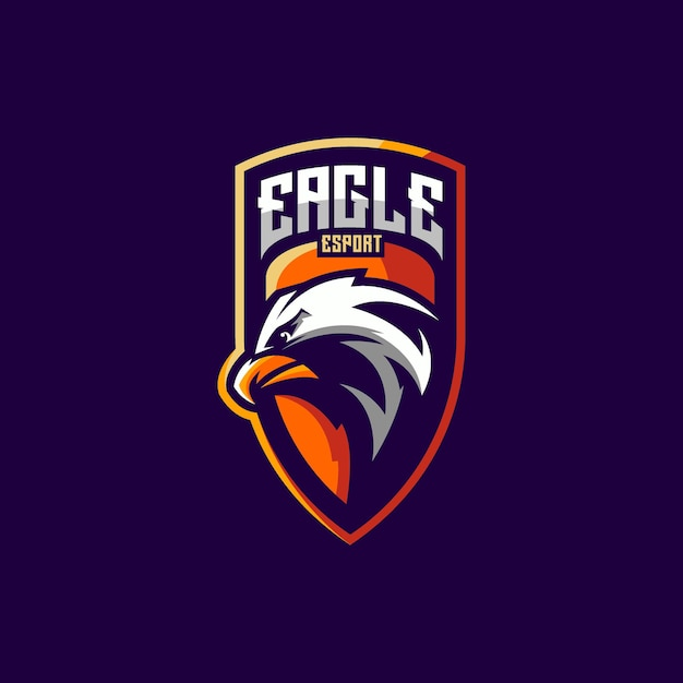 Projekt logo orła dla e-sportu