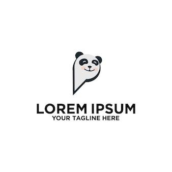 Projekt logo panda pins