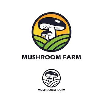 Projekt logo pieczarkarni