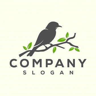 Projekt logo ptaka