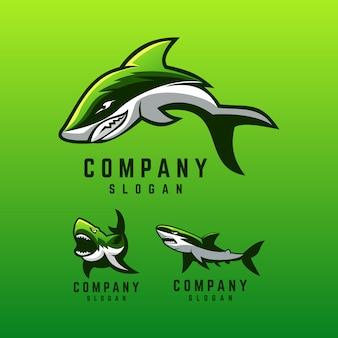 Projekt logo rekina