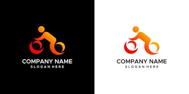 Projekt logo roweru