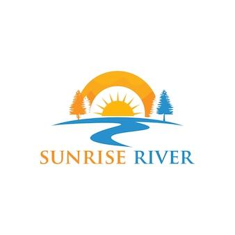 Projekt logo rzeki