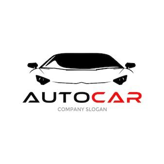 Projekt logo samochodu sportowego