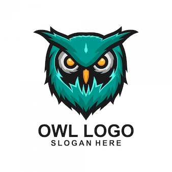 Projekt logo sowa