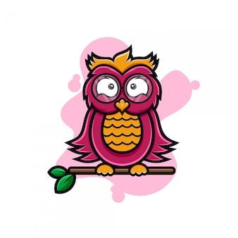 Projekt logo sowy